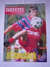 Orig.PRG   1.Bundesliga  1992/93   FC BAYERN MÜNCHEN - HAMBURGER SV  !!