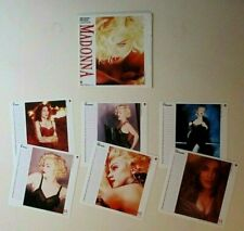 MADONNA 1989 Sept - 1990 Feb Small Mini Promo Calendar Pages and Envelope