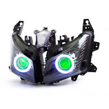 KT LED  Headlight Assembly for Yamaha TMAX 530 2012 2013 2014 Green