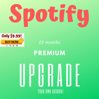 Spotify Premium Upgrade | 12 Months | Instant Delivery