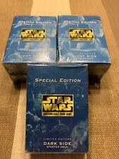 Star Wars Special Edition, Limited Edition Light Side & Dark Side Starter Decks
