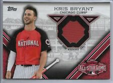 2015 Topps Update Baseball Kris Bryant All-Star Stitches Jersey Card # Stit-Kb