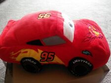 """ILIGHTNING MCQUEEN character beanie soft toy CARS Disney Store, plush 12"""""""
