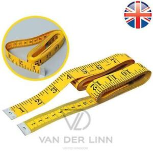 *UK SELLER* 3M 120 INCHES BODY MEASURING TAPE SEWING FABRIC RULER TAILOR