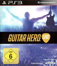 Guitar HERO-Live per PlayStation 3 ps3 [Solo Gioco] | | merce nuova versione tedesca