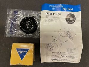 NOS Olympic Model 450 Fly Fishing Reel Vintage New Old Stock FREE SHIPPING