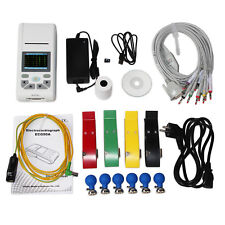 Touch ECG Electrocardiograph,ECG Machine,Display 3/6/12-lead ECG,2.83' color,SW