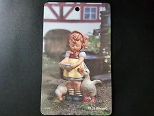 RiColor- Pictura  MJ Hummel ARS Wall Plaques Picture -West Germany Girl w geese