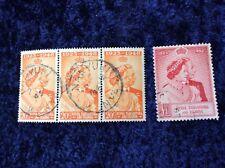 Kenya Uganda & Tanganyika GeorgeVI Royal Silver Wedding 1948 SG 157/8 V F U.