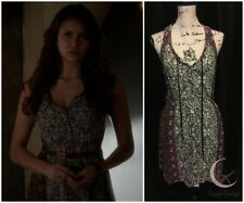 ASO Elena Gilbert Ecote Tie-Neck Tank Dress Sz S The Vampire Diaries