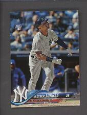 2018 Topps Update #US200 Gleyber Torres New York Yankees RC Rookie