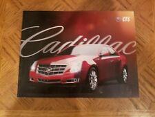 2009 Cadillac Cts Sales Brochure