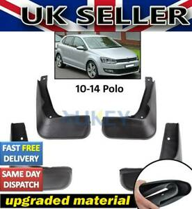 Fit For VW POLO MK5 6R 2010-2014 Mudflaps 2013 2012 2011 Mud Flaps Splash Guards