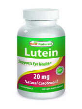 Best Naturals Lutein, 20mg, 120 Softgels *Supports Eye Health*