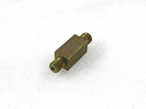 WILLYS JEEP BRASS MADE 3 WAY OIL PRESSURE T - PIECE 53mm