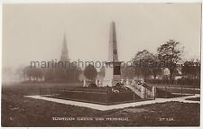 Turnham Green War Memorial, London RP Postcard B781