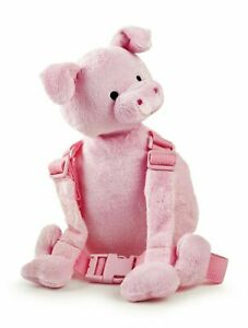 Child Walking Safety Harness Buddy PIG Animal Backpack Reins Toddler GIFT IDEA