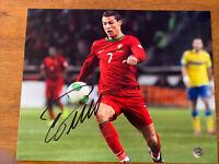 Cristiano Ronaldo Hand Signed Autographed 8x10 Photo w/GV COA - Real Madrid