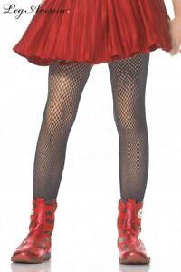 Leg Avenue 4067 girls kids costume tights nylon stockings Black Fishnet dance