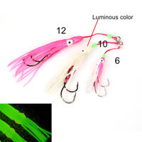 2xfishing lures pesca assist hook fishing accessories octopus jig squid jig NT