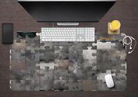 3D Marmor Puzzle 03 Textur Rutschfest Büro Schreibtisch Mauspad Tastatur Spiel