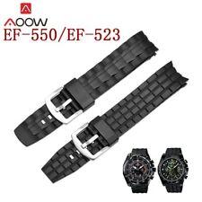 pulsera de reloj para CASIO edificio EF-550/EF-523 hombres deportes impermeable