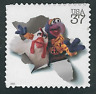 Scott  #3944-j... 37 Cent...Muppets...The Great Gonzo...3 Stamps