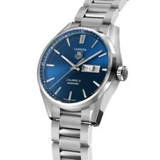 Tag Heuer Carrera Calibre 5 Day-Date blue dial Automatic Watch
