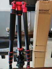 Neewer Portable Carbon Fiber 63 Camera Tripod Monopod With 360° Ball Head
