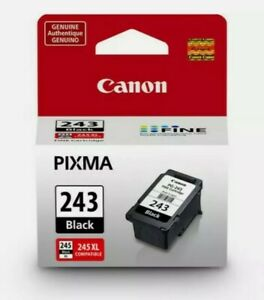 Genuine Canon PG-243 Black Ink Cartridge (1287C001) Brand New Sealed