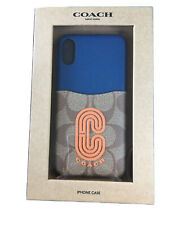 NEW Coach Protective Case for iPhone X Multicolored.