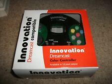 Innovation-Dreamcast Controller-vert transparent-NEUF! COFFRET