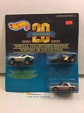 #3 20th Anniversary 3- PACK  Porsche, Monster Corvette, XT-3 * Hot Wheels * N134