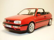 VOLKSWAGEN GOLF III cabriolet rouge 1/18 VW Golf 3