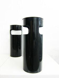 2 Schirmständer aus Kunststoff von Kartell Design Gino Colombini