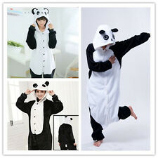 Unisex Adult Onesie8 Animal Cosplay Costume Kigurumi Panda Pajamas 3 Collection
