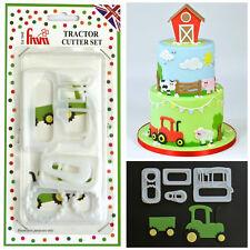 FMM Tractor Cutter Set - Fondant Gum Paste Cake Decorating