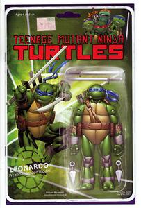 Teenage Mutant Ninja Turtles 52 LEONARDO Action Figure Cover 1st Jennika! /1000