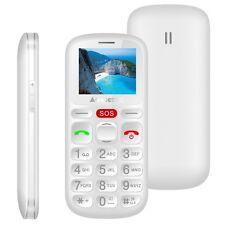Majestic sileno30n telefono cellulare per anziani con tasti grandi e  e BIANCO