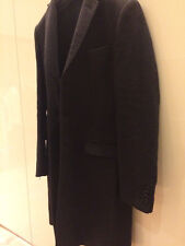 D&G trench coat dolce & gabbana cappotto grigio scuro mis. S slim fit LANA wool