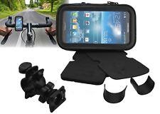 360° Motorbike Bicycle Rainproof Sat Nav Case Mount Holder For Mobile Phones