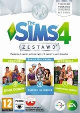 The Sims 4 Zestaw 3 / PL / gra PC / nowa / DLC