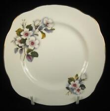 Duchess 'Brecon' White Flowers Bone China Side Plate #777 (4 Available)