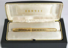 PARKER SONNET CROCODILE VERMEIL FOUNTAIN  PEN  FINE PT NEW IN BOX