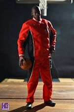 """1/6 Scale Michael Jordan Warm Up Track Suit Red for Enterbay for 12"""" figures"""