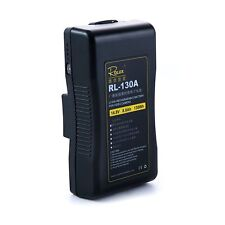 Rolux 130A Gold-Mount 130wh Rechargeable Battery Anton Bauer Mount