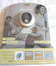 Memorex Digital Audio Player Mp3 Mmp8570 New In Package