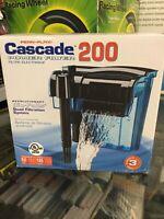 Aquarium Hang-on Filter 50 Gallon Tank Power Pump Sterilizer Canister 185 Gph