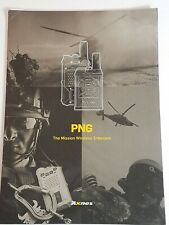 Axnes PNG The Mission Wireless Intercom Set of 5 Data Sheets NEW Military