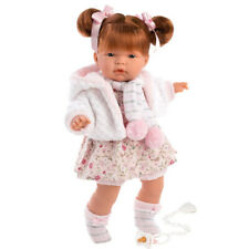 "Llorens 15"" Soft Body Crying Baby Doll Madeline"